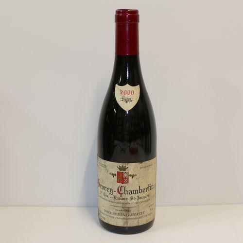1 Btle Gevrey Chambertin 1er Cru Lavaux Saint Jacques 2000 Domaine Denis Mortet …