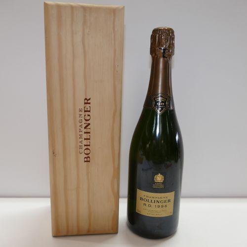 1 Btle Bollinger R.D. 1996香槟酒,木盒装 IC 10/10 专家:Emilie et Robert Gorreteau