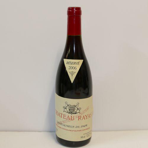 1 Btle Château Rayas rouge 2006 IC 10/10 PM Tva incluse et récupérable pour les …