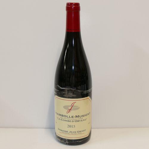 1 Btle Chambolle Musigny La Combe d'Orveau 2015 Domaine Jean Grivot IC 10/10 PM …