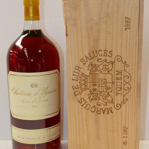 1 Impériale Château d'Yquem 1997 1er CCS Sauternes en caisse bois d'origine Expe…