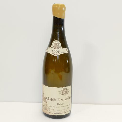 1 Btle Chablis Grand Cru Valmur 2008 Domaine François Raveneau label slightly di…