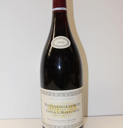 1 Magnum Nuits Saint Georges 1er Cru Clos de la Maréchale rouge 2008 Domaine Jac…