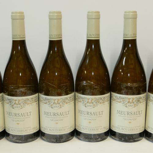 6 Btles Meursault Le Limozin 2015 Domaine Bouzereau et Fils IC 10/10 PM 专家:Emili…