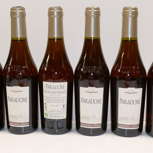 6 Demi Btles Paradoxe Jura liquoreux Domaine de La Pinte 包括并可收回应纳税人的增值税 专家: Emil…
