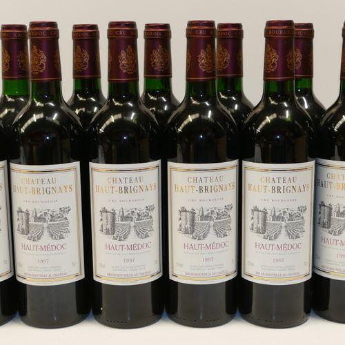 12 Btles Château Haut Brignays 1997 Cru Bourgeois Haut Médoc Experts: Emilie et…