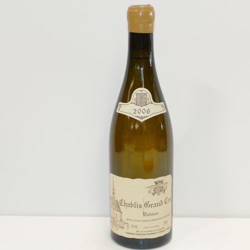 1 Btle Chablis Grand Cru Valmur 2006 Domaine François Raveneau label very slight…