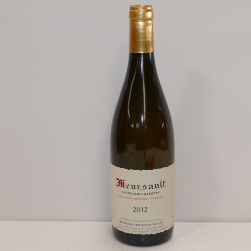 1 Btle Meursault Les Grands Charrons 2012 Domaine Bernard Boisson Vadot IC 10/10…