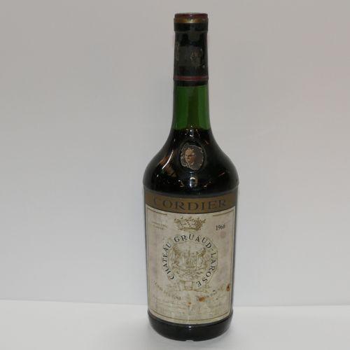 1 Btle Château Gruaud Larose 1966 2nd GCC Saint Julien 高等级的肩部标签略微脏污和轻微损坏 专家:Emil…