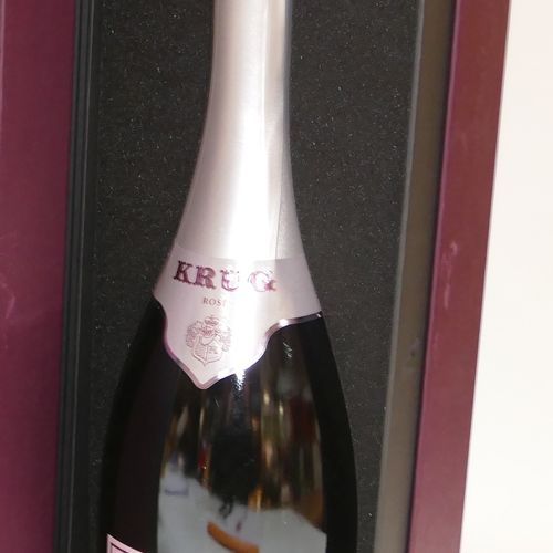 1 Btle Champagne Krug rosé 21 edition in IC box 10/10 专家:Emilie and Robert Gorre…
