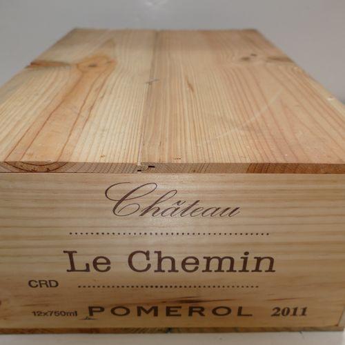 12 Btles Château Le Chemin 2011 Pomerol 原装未开封木箱 IC 10/10 PM 包括增值税,可向纳税人收回 专家:Emi…
