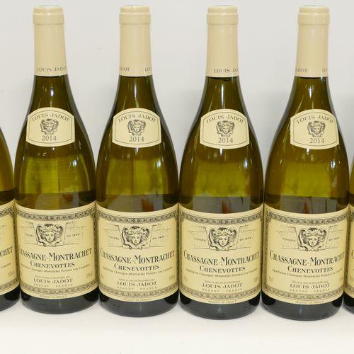6 Btles Chassagne Montrachet 1er Cru Chenevottes 2014 Maison Louis Jadot IC 10/1…