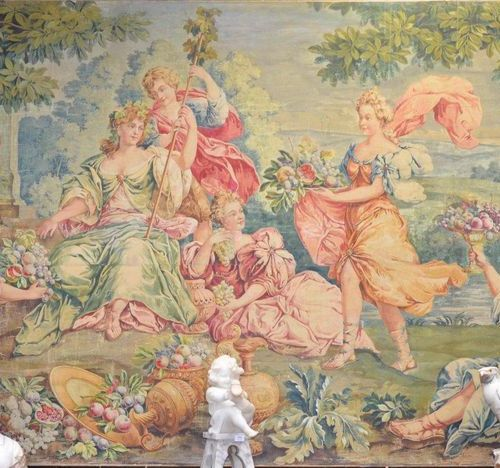 Attributed to Aubusson or Gobelin / Late 18th century early 19th century  Rare t…
