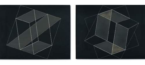 Josef ALBERS (1888 1976) ■ ƒ ƒ λ (i) Structural Constellation: Transformation of…