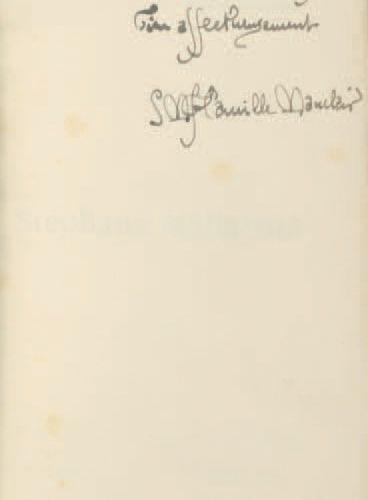 MAUCLAIR, Camille (1872 1945). Stéphane Mallarmé. Paris : Édition de la Société …