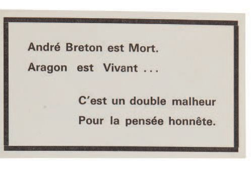 BRETON, André (1896 1966). Nadja. Paris : NRF, 1928. Édition originale, un des 1…