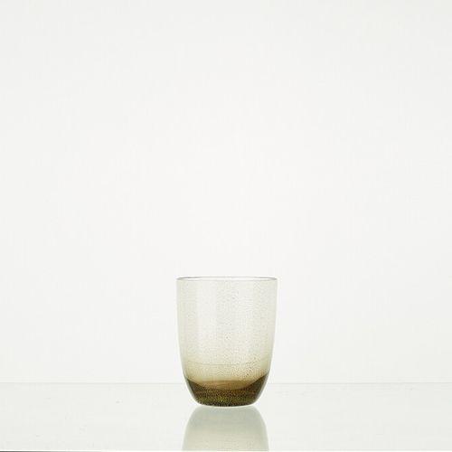 Lot composé de 6 verres modèle PEPITE H: 10cm