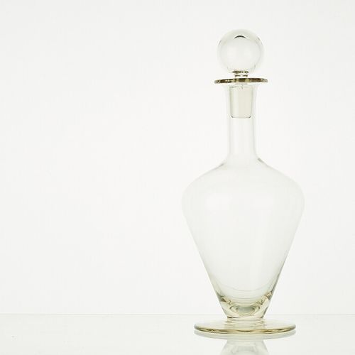 1 carafe LIGNE ANTIQUE BLANC ANTIQUE (H: 31/32cm avec bouchon, 25,5cm sans bouch…