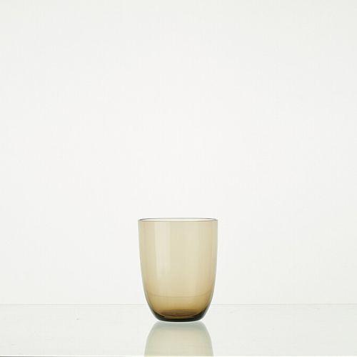 Lot composé de 6 verres WENGE translucides H: 9cm