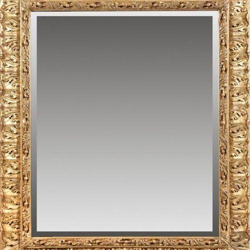 Großer Belle Epoque Wandspiegel Holz, stuckiert, gefasst und vergoldet. Breite, …