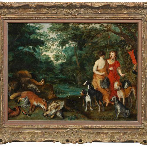 Jan Brueghel der Jüngere und Hendrick van Balen (1601 Anvers 1678 ibid. Resp. 15…