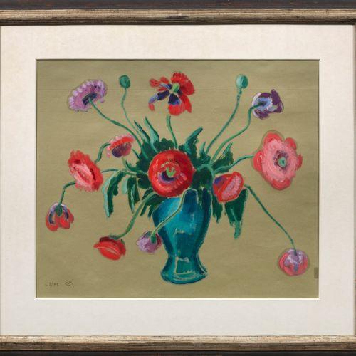 Gabriele MUNTER (1877 Berlin 1962 Murnau am Staffelsee) Still Life with Bouquet …
