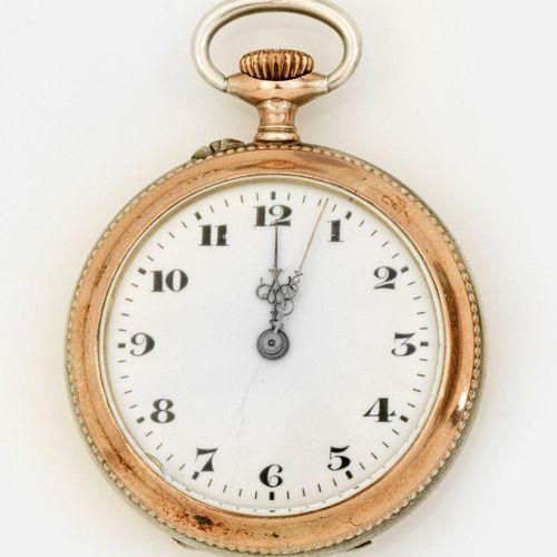 Belle Epoque Damen Savonette Fin du XIXe siècle ; argent, partiellement doré. Bo…