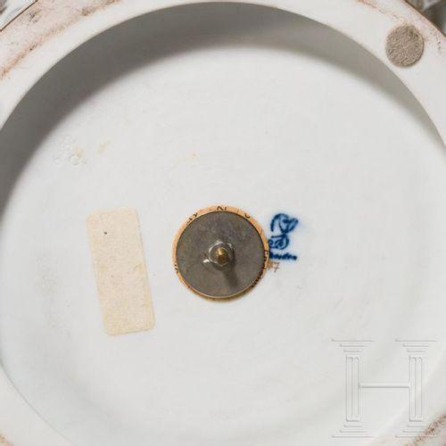 A presentation vase from the porcelain manufacture Dresden, 20th century Porcela…