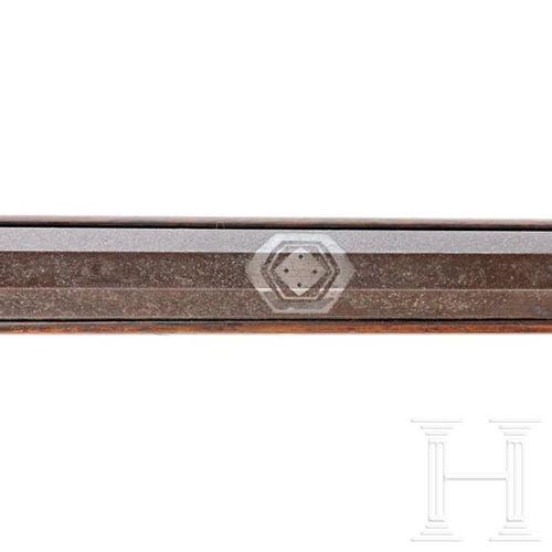 A Japanese Hinawa Ju Tantsutsu, mid Edo period Course de hakkaku en fer, portant…