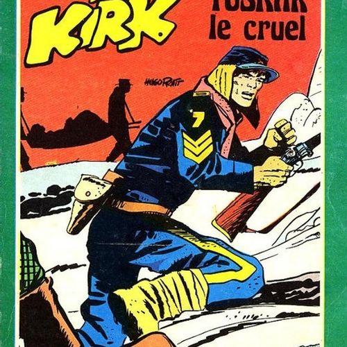 PRATT, Hugo (1927 1995) SERGENT KIRK TOME 7. TUSKAR LE CRUEL  Encre de Chine pou…