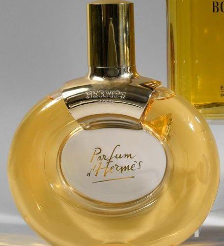 HERMES «Parfum d'Hermès» (années 1990) Modèle dessiné par Jacques Llorente et éd…