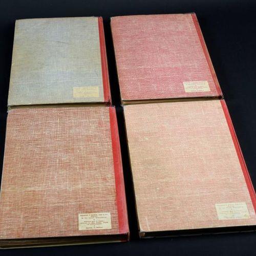 ALBUMS SPIROU N°76, 77, 78 et 79. Reliures éditeur. 76 (Bel état), 77 (TBE), 78 …