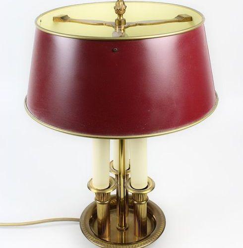 Lampe de table Bouillotte, allemande, 2e moitié du XXe siècle, style Empire, en …