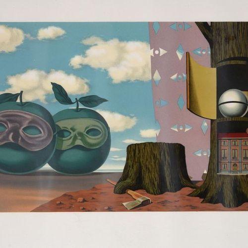 RENÉ MAGRITTE (1898 1967) Les enfants trouvés, 1968 Set of twelve colour lithogr…