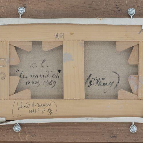 ANDRÉ HAMBOURG (1909 1999)  Les amandiers, mars 1989  Huile sur toile  Signée en…
