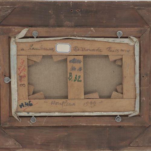 ANDRÉ HAMBOURG (1909 1999)  Honfleur, 1949  Huile sur toile  Signée en bas à dro…