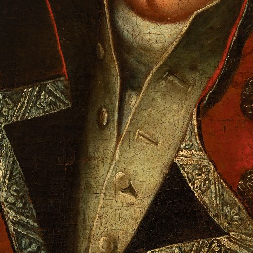 """Andalusian school; circa 1800. """"Portrait of Don Francisco Javier Araoz y Aredond…"""