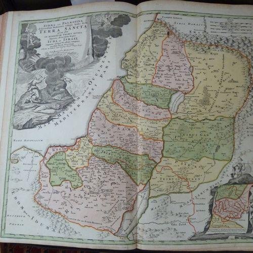 Recueil factice de 160 cartes géographiques de la première moitié du XVIIIe. 3 v…