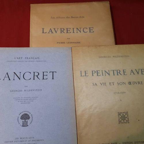 [Monographies de Peintres] :   Lavreince, par Pierre Lespinasse. 1928, in folio …