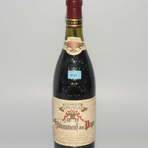 Sammelnummer Burgunder Chateauneuf du Pape, 95 Comte d'Argelas, 1fl. Chateauneuf…