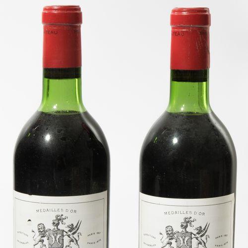 Château Montrose 1969. 2ème Cru. St. Estephe. 8 bouteilles.