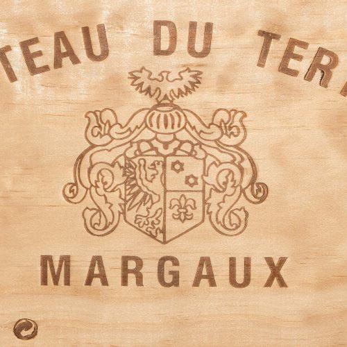 Château du Tertre 1999. 5ème Cru. Margaux. Boîte en bois d'origine. 6 bouteilles…