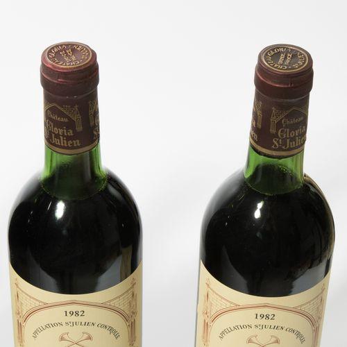 Château Gloria 1982. Cru bourgeois. St. Julien. 11 bouteilles.