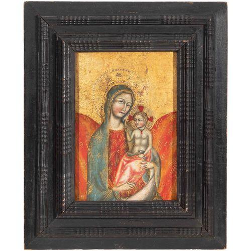 """Andachtsbild """"Maria mit Kind"""" Andachtsbild """"Maria mit Kind""""  Italienische Schule…"""