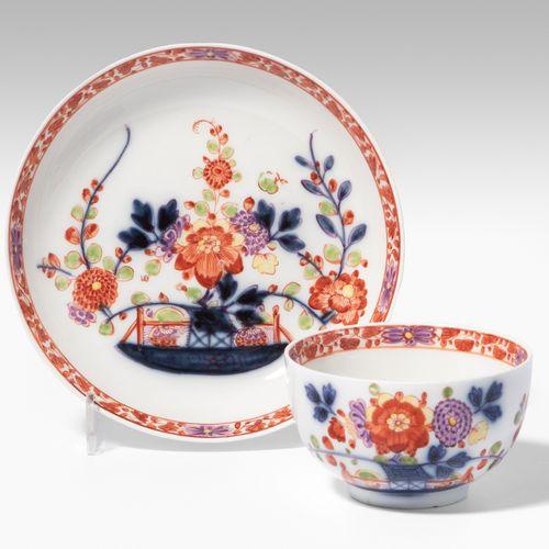 Meissen, Tasse mit Untertasse Meissen, Tasse avec soucoupe  Porcelaine, vers 172…