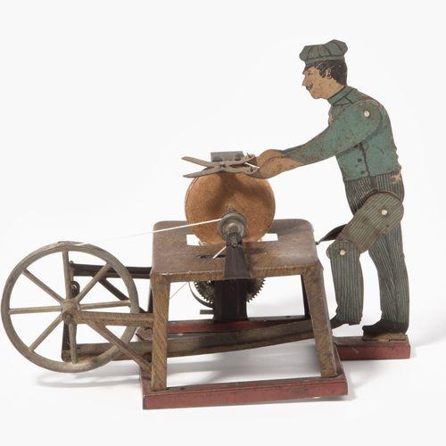 """(Arnold), Antriebsmodell """"Scherenschleifer"""" (Arnold),驱动模型 """"剪刀式研磨机""""。  德国,约1920/30…"""