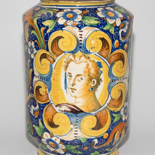 Venedig, Albarello Venise, Albarello  Atelier de Mastro Domenico, 3e quart du XV…