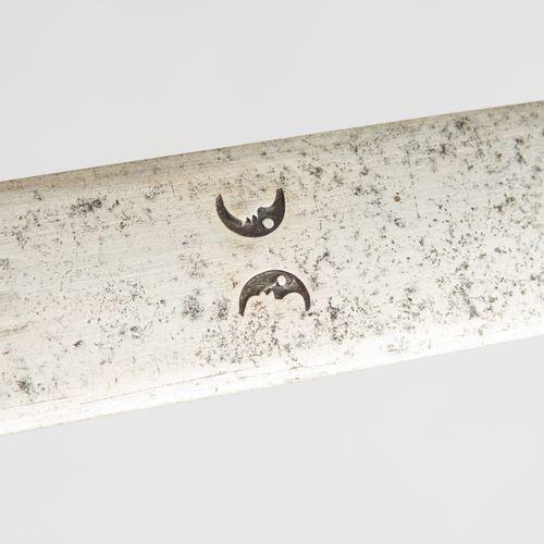 Schwert Épée  Dans le style italien du début du XVIe siècle. Poignée en fer avec…