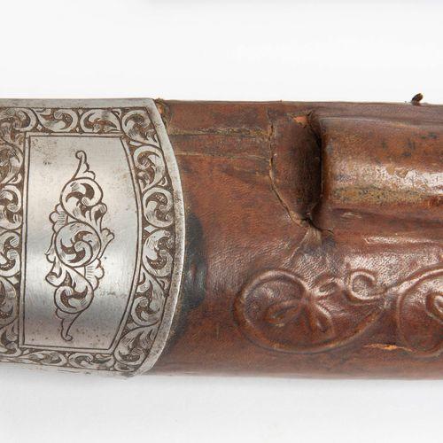 Khyber Messer Couteau de Khyber  Afghanistan, XIXe siècle. Garde de couteau avec…