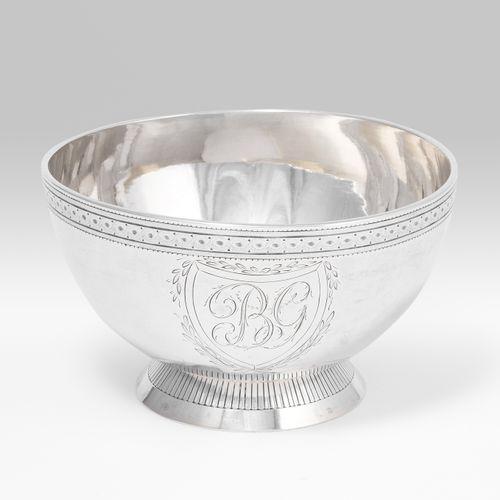 Fussschale, Lausanne Fussschale, Lausanne  Um 1790. Silber. Meistermarke Wilhelm…